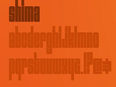 Shima Typeface