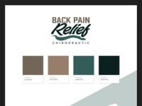 Back Pain Relief Chiropractic Branding