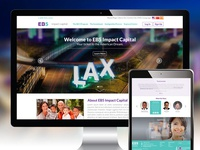EB5 Impact Capital Branding and Website Design