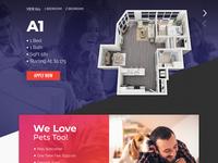 Apartment Rental Wordpress Theme