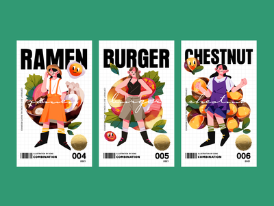 Food illustration-02 branding design illustration