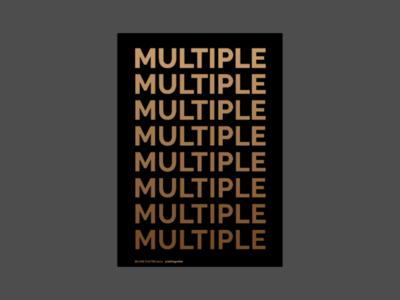 Multiple (Part 1)
