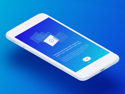 RecordKeeper V0.2 Onboarding onboarding collection records vinyl mobile ux ui ios app