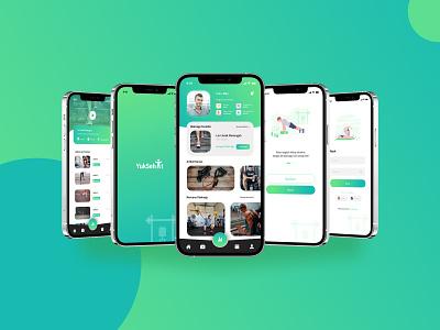 Yuk Sehat Workout App mobile app mobile ui mobile app design