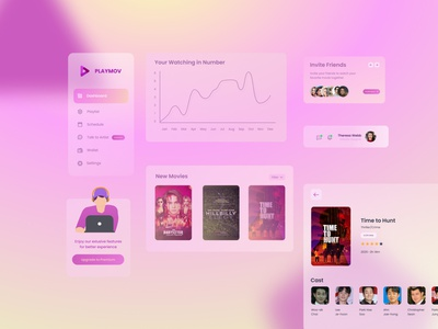 This For Movie Addict movie dashboard movie app website dashboard dashboard design dashboard ui dashboad