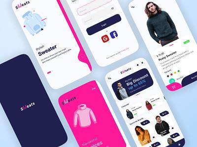 Fashion App mobile concept application desain aplikasi mobile ui app design mobile app design mobile app
