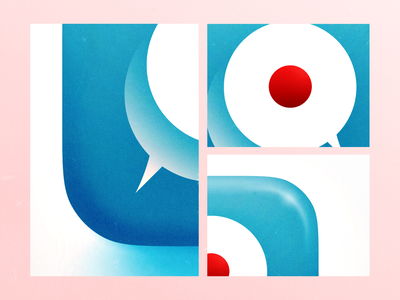 会話・かいわ・Conversation Icon Details illustration detail icon ios
