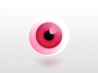 👁 shot previewer for dribbble → EYE branding illustration