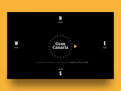 🧭 Gran Canaria → exploration website warmup island gran canaria web design