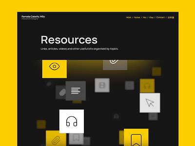 📄 Portfolio → Resources portfolio web design animation resources international design day