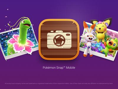App Icon → Pokemon Snap™ Mobile app icon mobile illustration pokemon