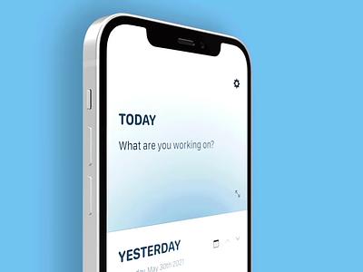 📅 / ☀️ + 🌙 product design mobile