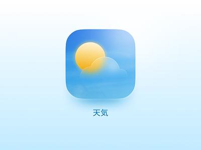 🌤 iOS · 天気 · Weather icon mobile weather ios15