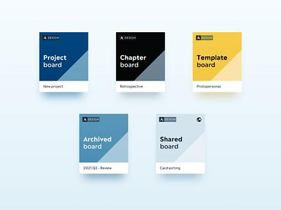 Miro Board Covers illustration branding miro product design