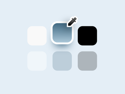 Case study → Icon detail portfolio design system illustration icon