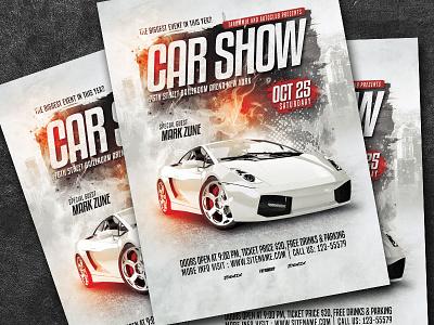 Car Show Flyer sale repair race poster night show psd download flyer event flyer event design classic car show car flyer car automotive automobile auto show flyer auto show auto