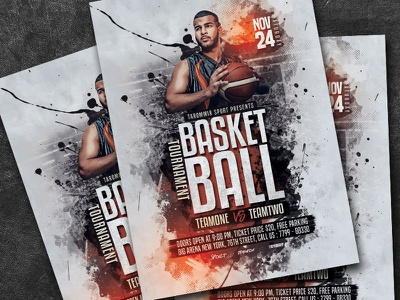 Basketball Tournament Flyer streetball sports bar sport poster match league leaflet game flyer event competition championship college basketball tournament basketball poster basketball game basketball flyer basketball basket ball