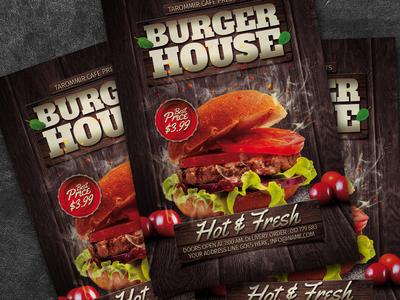 Burger House Flyer