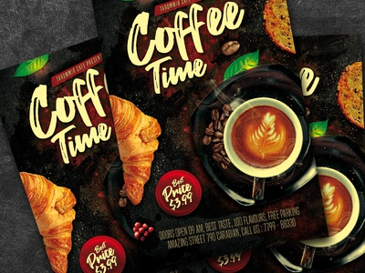 Coffee Time Flyer