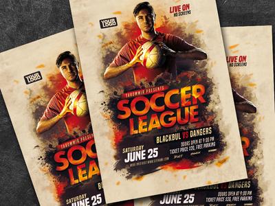 Soccer League Flyer