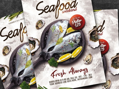 Seafood Flyer