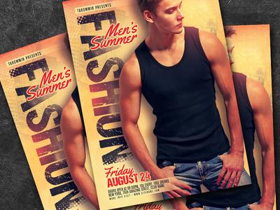 Men's Summer Fashion Flyer