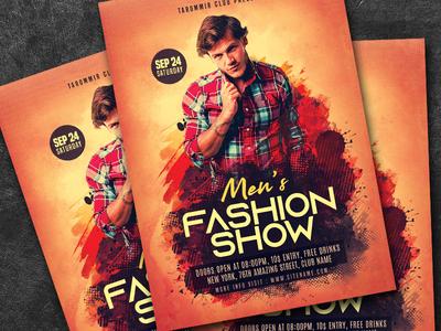Men's Fashion Flyer