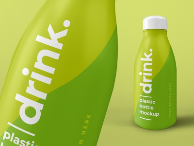 Juice Drink Plastic Bottle Mockup drink bottle juice design psd freebbble mockup free freebie
