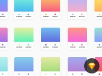 Free Vivid Sketch Gradients