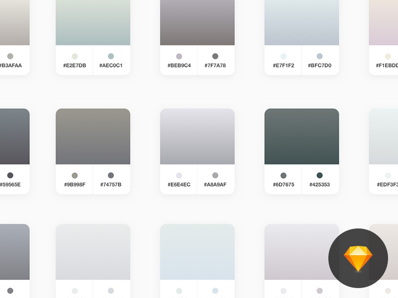 Free Neutral Sketch Gradients