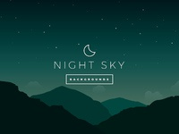 Night sky vector backgrounds preview 5
