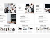 minimalist presentation template (powerpoint + keynote)tony, Presentation templates