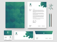 Free Business Card & Letterhead Template