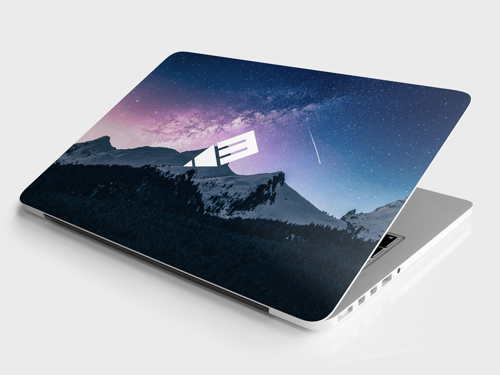 Laptop Sticker  U0026 Skin Mockup  Free Psd  By Tony Thomas For