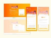 Landing page for Lucca