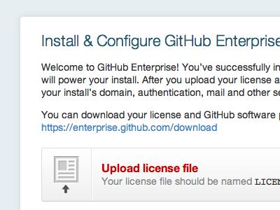 Install & Configure github enterprise