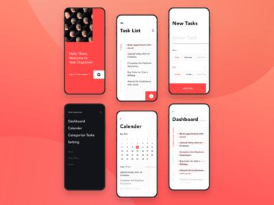 Task Organizer App Concept