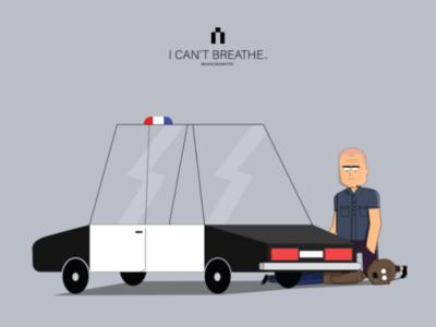 I can't breathe black car illustration gorge gorgefloyd justice blacklivesmatter icantbreathe justiceforgorgefloyd