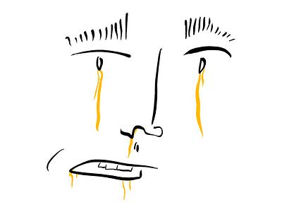 Tea Drinker: Why Do I Draw Random Faces On My iPad Pro? ipadpro tea green tea why tear face