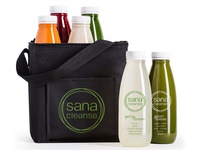 Sana Cleanse Packaging Design