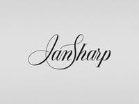 Ian Sharp logo