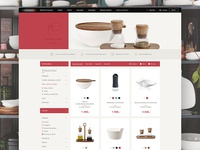 Kitchenware e-commerce website