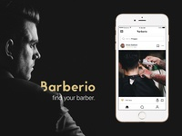 Barberio - Find your barber.