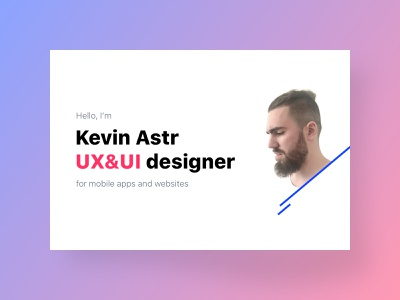 Personal Resume and Portfolio modern minimalist clean typogaphy personal portfolio cv resumé resume