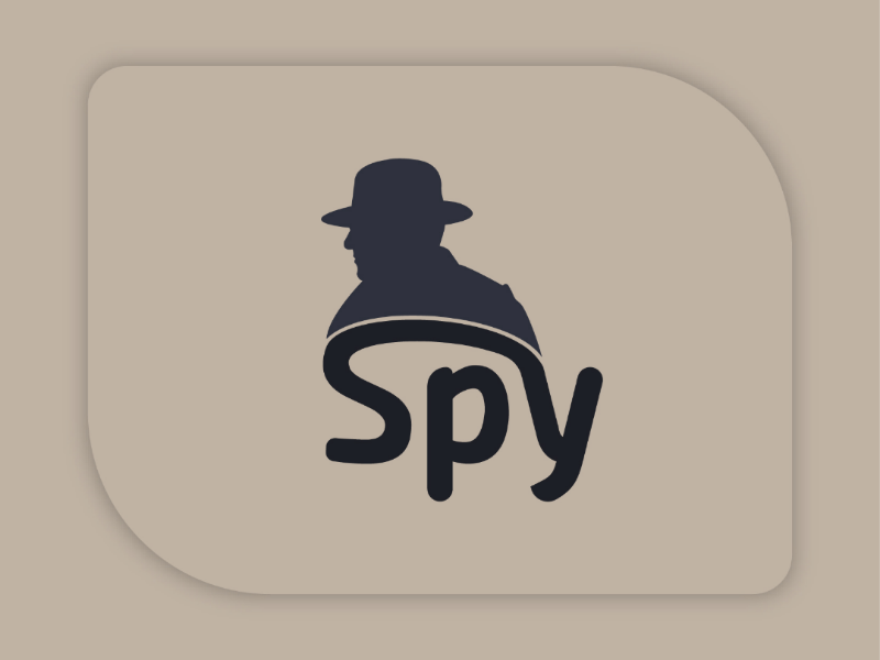 spy logo design by abul hasan nobin on dribbble spy logo design by abul hasan nobin on