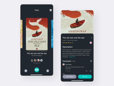 Reading App Design