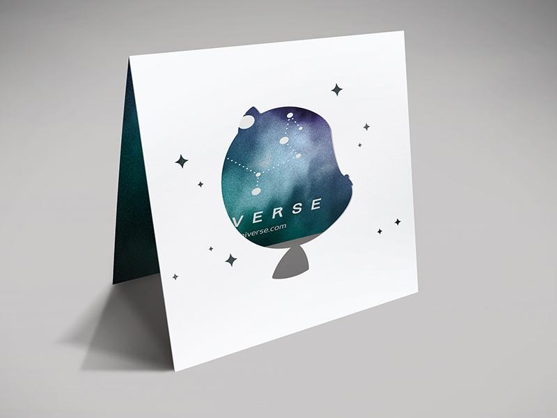Github universe promo diecut 3