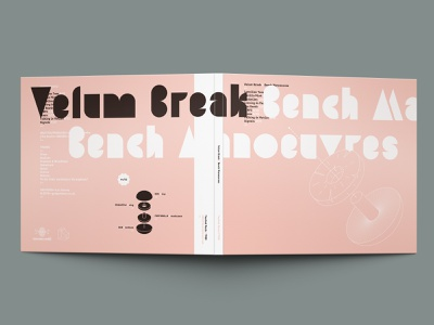 Velum Break – Bench Manoeuvres (CD digipack) cd packaging cd design cd artwork charity compact disc vector package design design graphic  design music