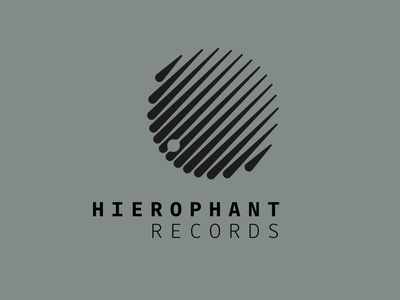 Heirophant Records logo design logo branding vector design graphic  design music
