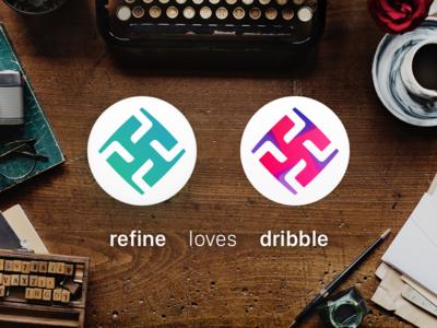 refine loves dribbble